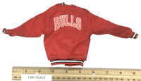 Bulls Sport Set (Red) - Satin Jacket (Red)
