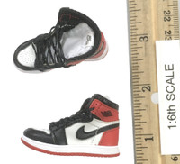 Bulls Sport Set (Red) - Shoes (Red & White w/ Black Toe) (For Feet)