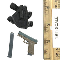 Combat Girl Series Pisces: Lucy - Pistol (G18) w/ Holster & Extended Mag