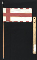 Henry V of England - Flag (Metal) w/ Spear Tip