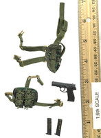 Snow Leopard Commando Unit Female Sniper - Pistol (QSZ-92) w/ Holster