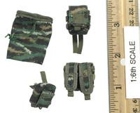 Snow Leopard Commando Unit Female Sniper - Pouch Set