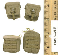 Operation: Red Sea PLA Navy Marine Saw Gunner Zhang Tian De - Pouch Set