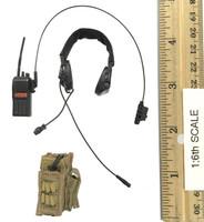 Operation: Red Sea PLA Navy Marine Saw Gunner Zhang Tian De - Radio w/ Headset & Pouch