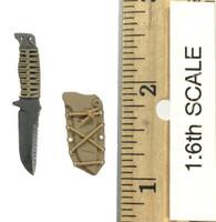 Operation: Red Sea PLA Navy Marine Saw Gunner Zhang Tian De - Tactical Knife w/ Sheath