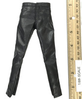 The Lost Man - Black Leather Pants