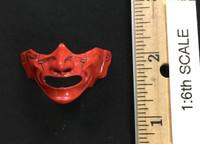 Female Samurai Ryou (Red Armor) - Armor Mask (Menoshitbao)