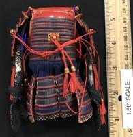 Female Samurai Ryou (Red Armor) - Body Armor (Do) w/ Armored Sleeves