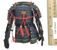 Female Samurai Ryou (Black Armor) - Body Armor (Do) w/ Armored Sleeves