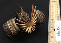 Female Samurai Ryou (Black Armor) - Helmet (Kabuto)