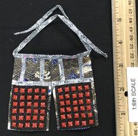 Female Samurai Ryou (Black Armor) - Thigh Armor (Haidate)