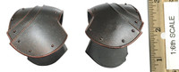 Knights of the Realm: Black Knights (SHCC Exclusive) - Shoulder Armor (Flat) (Metal)
