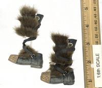 The Hobbit: Thorin Oakenshield - Boots w/ Fur Leggings & Ball Joints