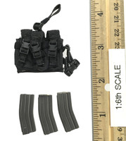 DEA Special Response Team Agent El Paso - Dropleg Triple Mag Pouch