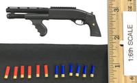 DEA Special Response Team Agent El Paso - Shotgun w/ Shotgun Shells (12)