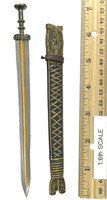 Qin Empire Emperor Dragon - Qin Sword w/ Scabbard (Metal)