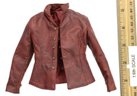 Henry V of England (Throne Version) - Leather Jacket (Red)