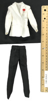 Royal Agent Suit Sets - Tuxedo Suit (White Jacket)