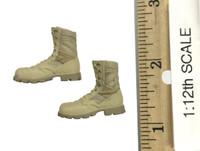 75th Ranger Regiment: Grenadier (1/12th Scale) - Boots (Altama Desert) w/ Ball Joints