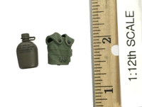 75th Ranger Regiment: Grenadier (1/12th Scale) - Canteen w/ Pouch