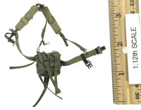 Delta Force Support Rifleman (1/12th Scale) - Y-Strap w/ Pouch
