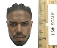 Black Panther: Erik Killmonger - Head (Unmasked) (No Neck Joint)