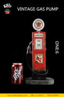Vintage Gas Pump - Boxed Accessory (1/6th Scale)