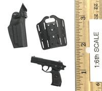 PAP Peoples Armed Police - Pistol w/ Dropleg Holster
