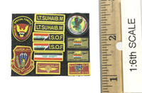 ISOF Saw Gunner - Patches