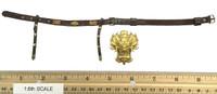 Soaring General Lu Bu Fengxian - Belt w/ Golden Dragon Buckle (Metal)