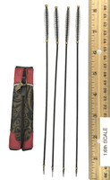 Soaring General Lu Bu Fengxian - Quiver w/ White Feather Arrows