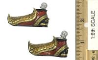 Soaring General Lu Bu Fengxian - Shoes w/ Ball Joints (Metal)