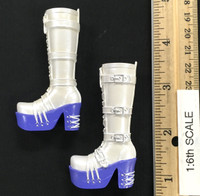 Lolita Maid Character Sets - Boots (White) (No Ball Joints)