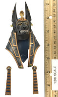 Anubis: Guardian of the Underworld - Head (Growling Expression) (No Neck Joint)