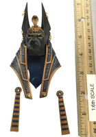 Anubis: Guardian of the Underworld - Head (Relaxed Expression) (No Neck Joint)