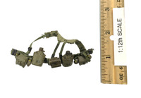 Viet Nam: Army 25th Infantry Division Private (1/12th Scale) - Belt w/ Accessories