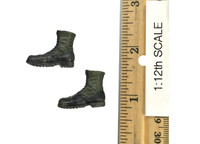 Viet Nam: Army 25th Infantry Division Private (1/12th Scale) - Boots (No Ball Joints)