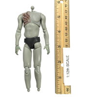 One:12 Collective: Dawn of the Dead (1/12 Scale) - Nude Body (Injured)