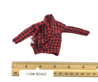One:12 Collective: Dawn of the Dead (1/12 Scale) - Shirt (Flannel & Torn)