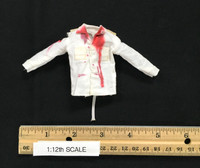 One:12 Collective: Dawn of the Dead (1/12 Scale) - Shirt (White & Bloody)