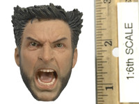 War Wolves - Head (Angry Expression) (No Neck Joint)