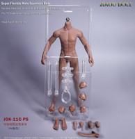 Normal Male Bodies (JOK-11C-PS Dark Skin) - Boxed Figure