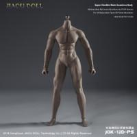 Strong Male Bodies (JOK-12D-PS Dark Skin) - Boxed Figure