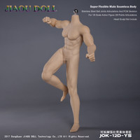 Strong Male Bodies (JOK-12D-YS Pale Skin) - Boxed Figure