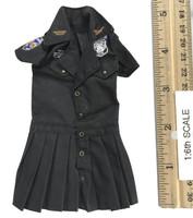 Seamless Pantyhose Skirt Sets - Dress (Black)