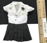 Seamless Pantyhose Skirt Sets - Dress (White)