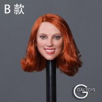 Caucasian Women's Headsculpts (GC033B) - Boxed Accessory (Red Hair)
