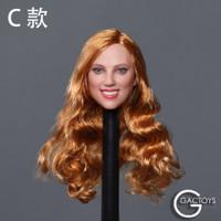 Caucasian Women's Headsculpts (GC033C) - Boxed Accessory (Strawberry Blonde)