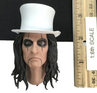 Alice Cooper - Head w/ Top Hat (Molded Neck) (See Note)