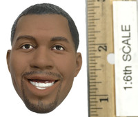 Magic Johnson - Head (Smiling Expression) (No Neck Joint)